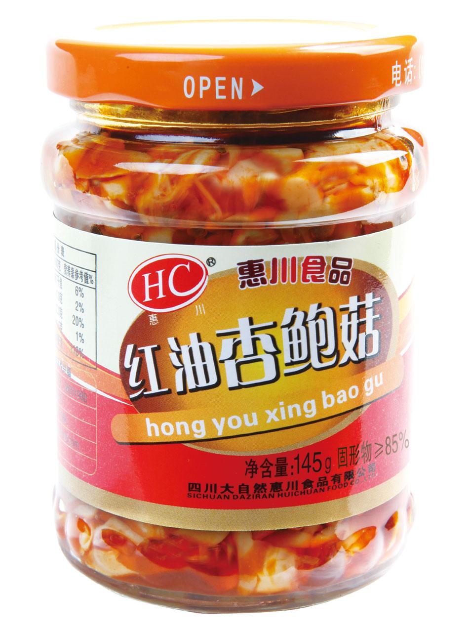 145克红油杏鲍菇