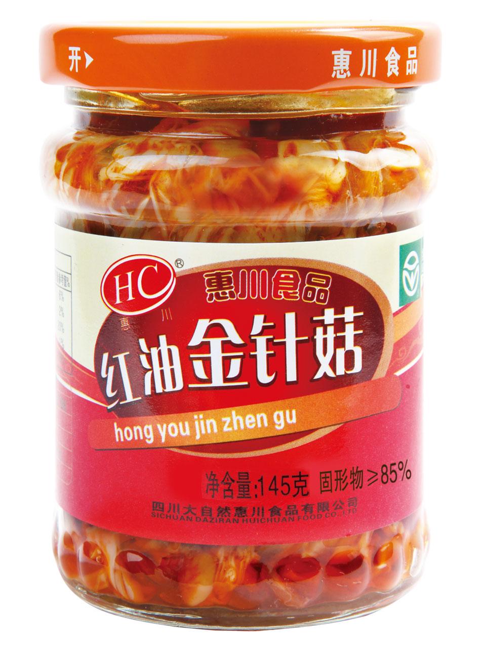 145克红油金针菇