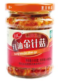 145克紅油金針菇