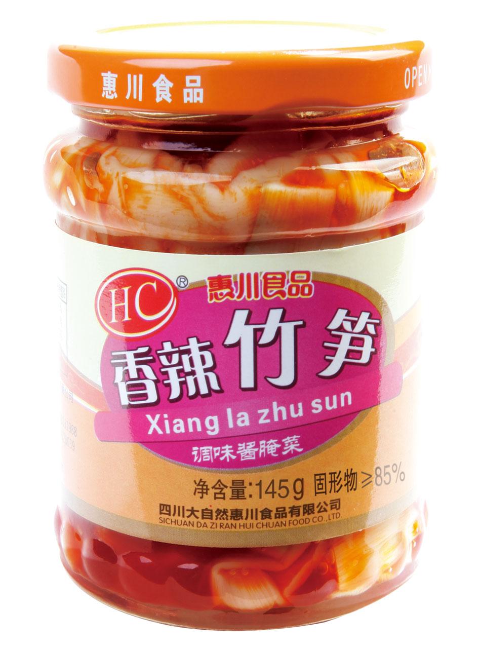 145克香辣竹笋