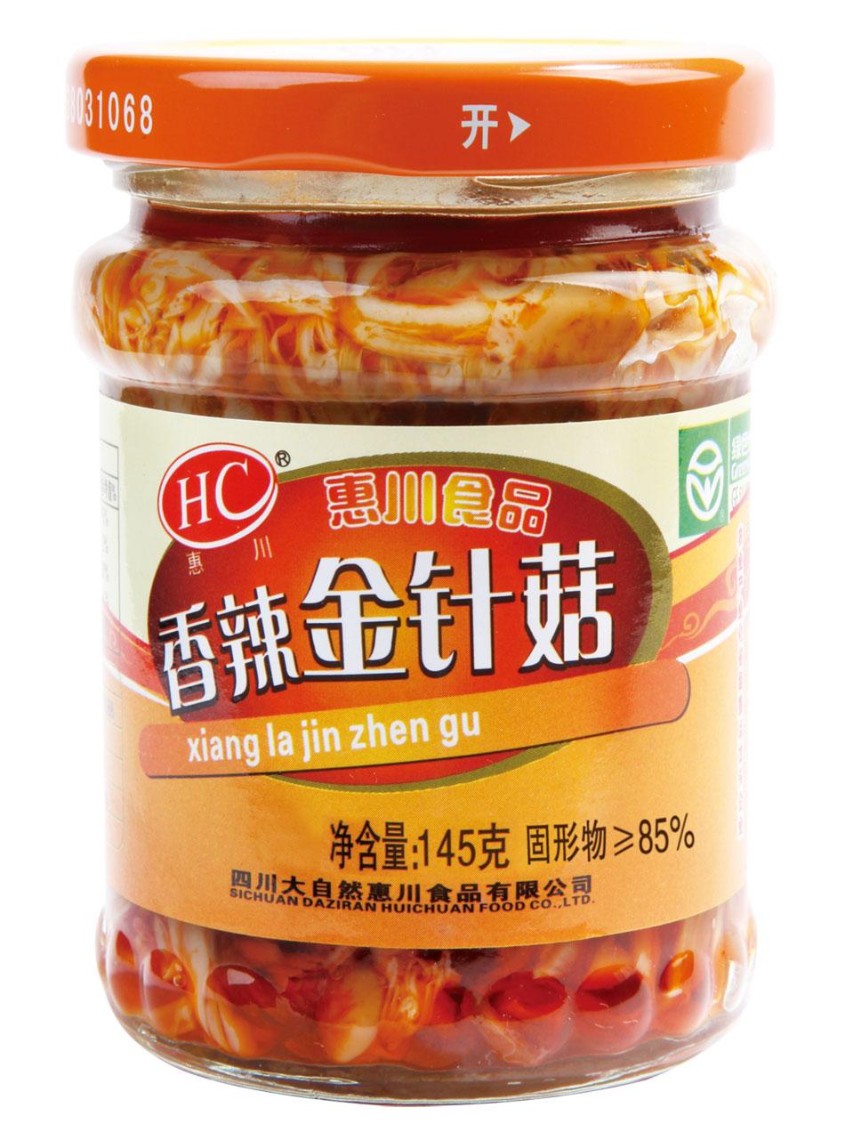 145克香辣金针菇.