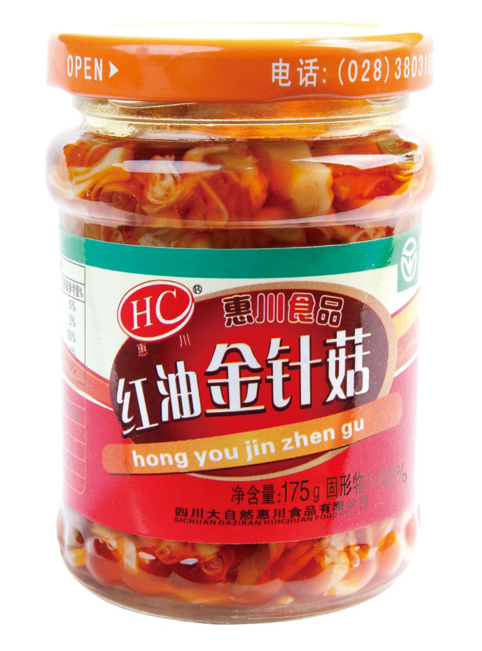 惠川食品175克红油金针菇