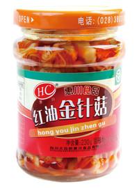 惠川食品230克紅油金針菇