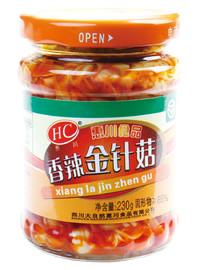 惠川食品230克香辣金針菇