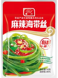 惠川食品50克麻辣海帶絲