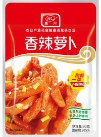 惠川食品80克香辣蘿卜