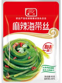 惠川食品80克麻辣海帶絲