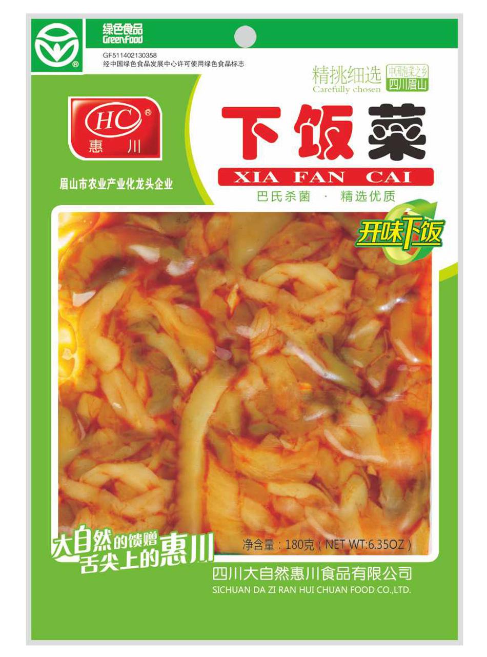 惠川食品180克下饭菜