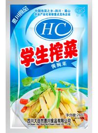 惠川食品26克學生榨菜