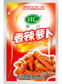惠川食品26克香辣蘿卜
