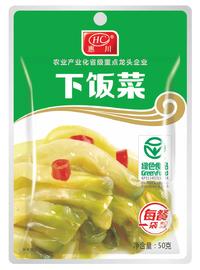 惠川食品50克下飯菜鋁袋