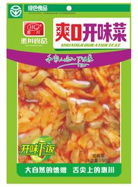 惠川食品50克爽口開味菜