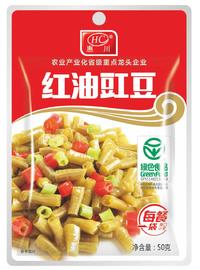 惠川食品50克紅油豇豆鋁袋