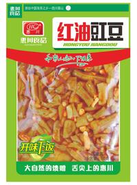惠川食品50克紅油豇豆