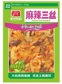 惠川食品50克麻辣三絲