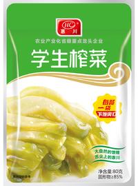 惠川食品80克學生榨菜