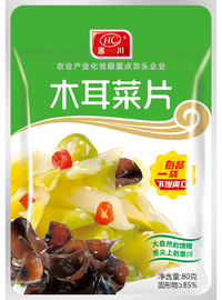 惠川食品80克木耳菜片