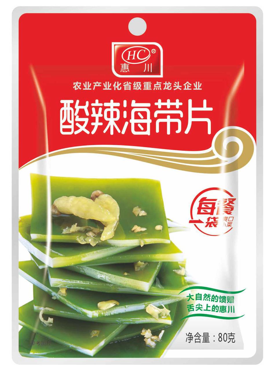 惠川食品80克酸辣海带片