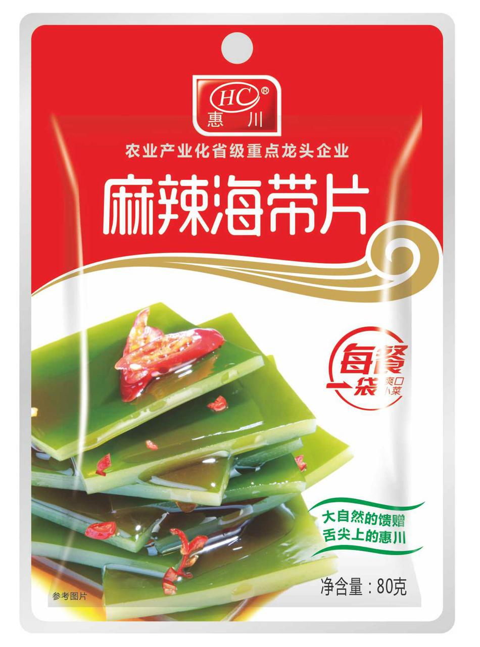 惠川食品80克麻辣海带片