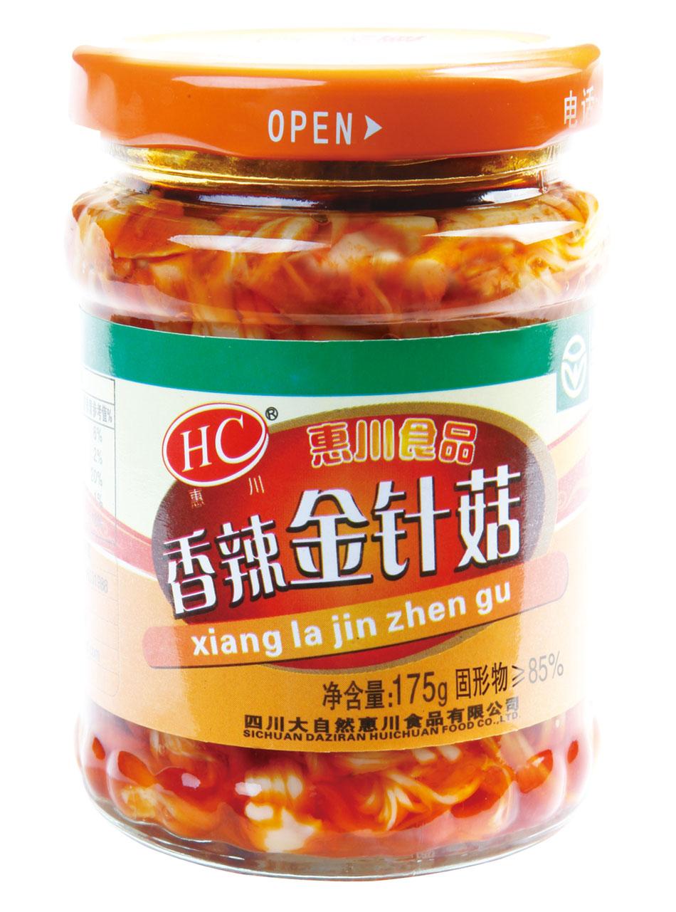 万博manbetx官网电脑食品175克香辣金针菇