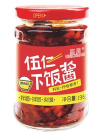 惠川食品196克伍仁下飯醬