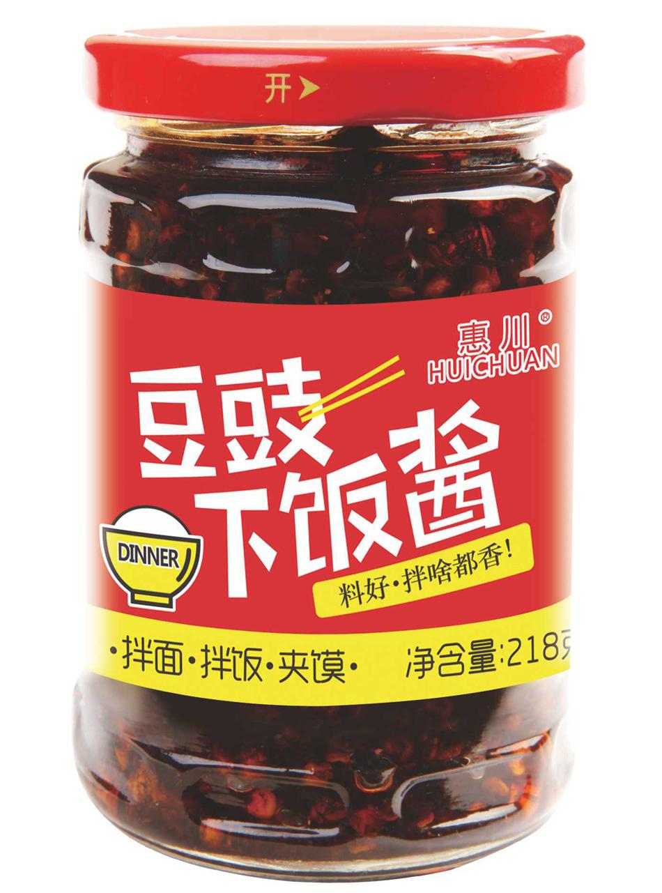 万博manbetx官网电脑食品218克豆豉下饭酱