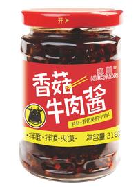 惠川食品218克香菇牛肉醬