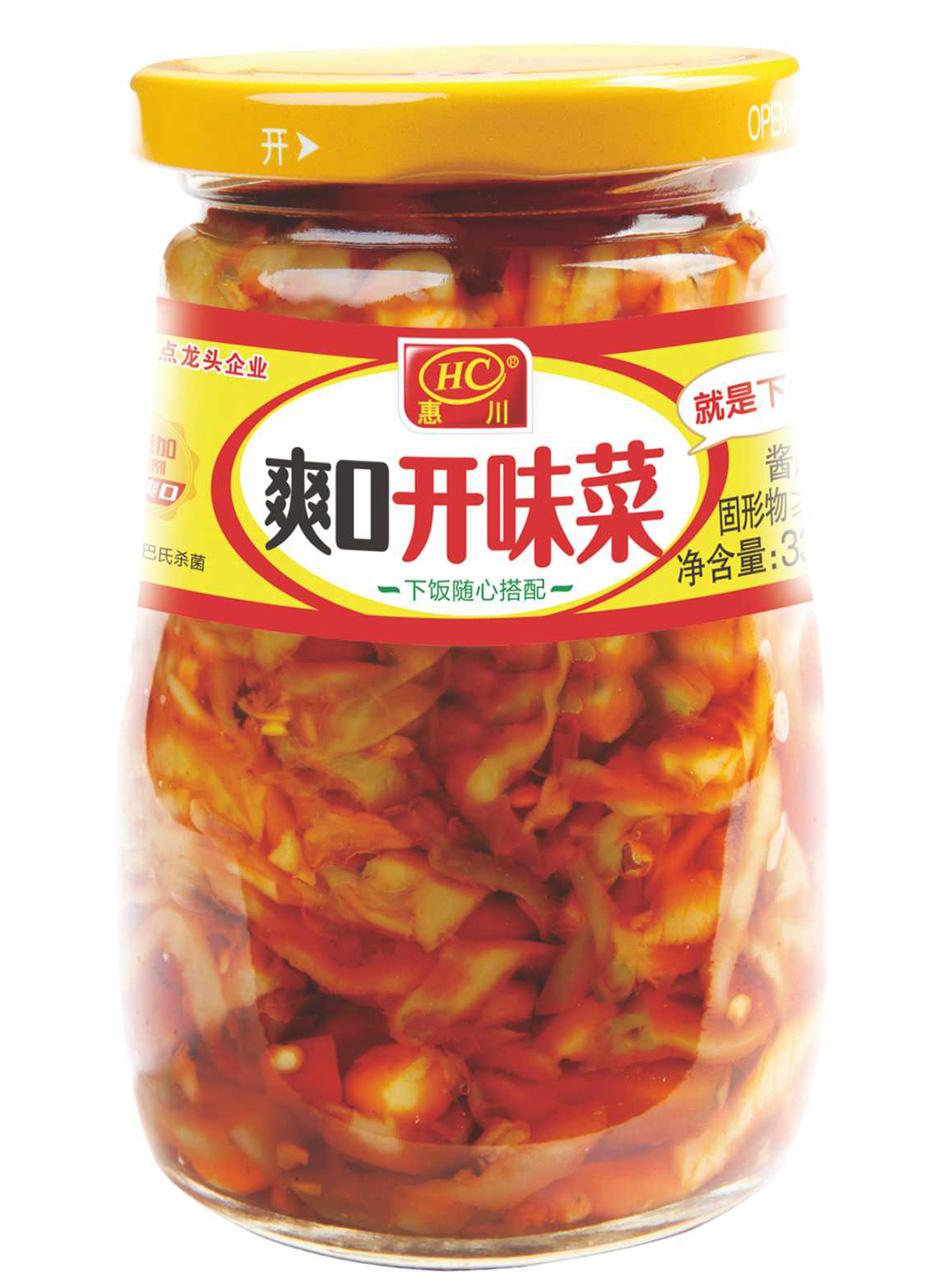 万博manbetx官网电脑食品330克爽口开味菜