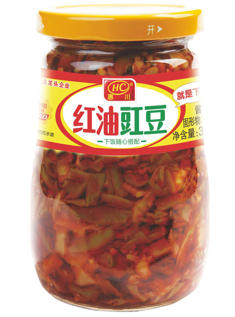 万博manbetx官网电脑食品330克红油豇豆