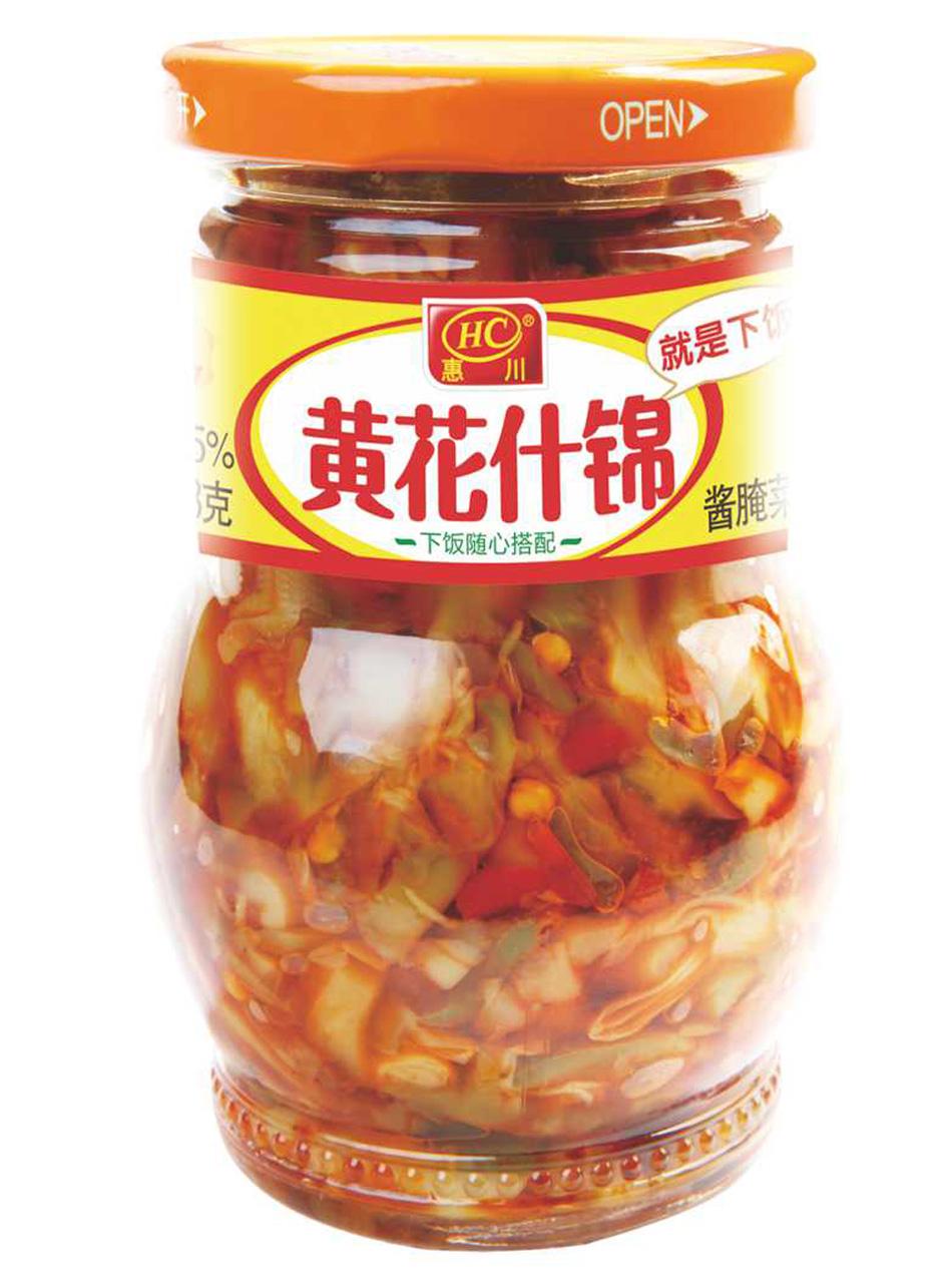 万博manbetx官网电脑食品330克黄花什锦