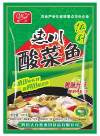 惠川食品280克酸菜魚佐料