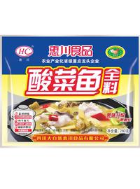 惠川食品280克酸菜魚全料