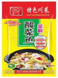 惠川食品280克酸菜魚全料2