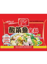 惠川食品280克酸菜魚全料3