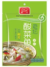 惠川食品320克老壇酸菜魚調料