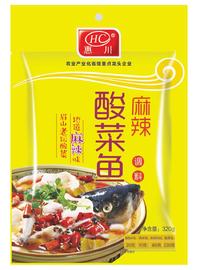 惠川食品320克麻辣酸菜魚調料